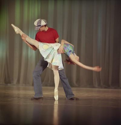 Танцы с порнушкой